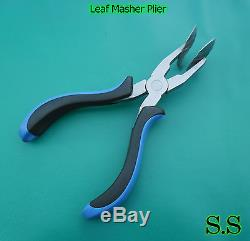 10 LEAF MASHER PLIERS Glass Lampworking Supplies Beads