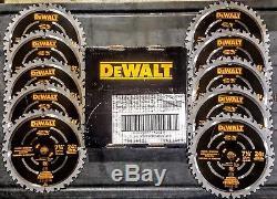 (10-PACK) DEWALT DWA31724D DWA35724DB10 DWA35724D 7-1/4 24T Demolition Blades