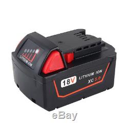 10-Pack 5000mAh 5.0AH 18V Battery for MILWAUKEE 18 Volt Power Tools
