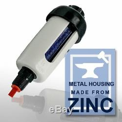 10 Pcs Inline Desiccant 1/4 Air Dryer Filter For Spray Gun Air Tools Water Trap