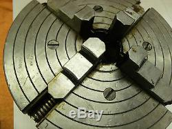 10 SOUTHBEND 4210 INDEPENDENT 4 JAW LATHE CHUCK 2-1/4 x 7 tpi