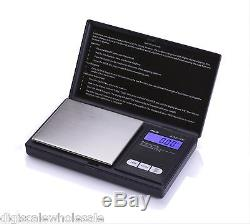 10 Wholesale Case Lot AWS-100 Pocket Scales 100g x 0.01g BLACK American Weigh
