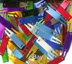 1000 Anodized Aluminum Golf Divot tool U pick Colors