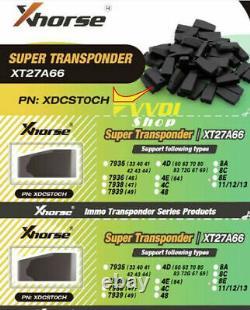 100pcs VVDI Super Chip XT27A01 Transponder work with VVDI2 VVDI Mini Key Tool