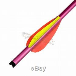 100pcs lots 15inch Hunting Archery Arrow 150 180lbs lb Arrows For Crossbow Tools