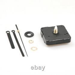 100x Black Clock Movement Mechanism Metal Hand DIY Repair Tool Replacement Kit