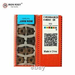 10P CBN WNGA080404 BNC200 CNC Metal Lathe Cutting Tool Turning Carbide Insert