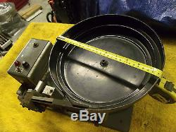 11 inch Vibratory Parts Feeder Bowl Feeder small parts spiral black rubber 120 v