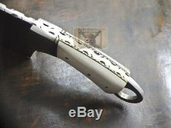 12 Awesome Custom Made D2 Tool Steel Blade, Cleaver Chopper Knife By Rck