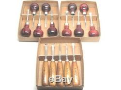 15pc Woodcarving Tools Gunsmith Linoleum Block Chisels Palm RAMELSON USA