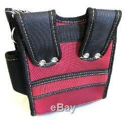 18pc Lot Heavy Duty Carpenter Handyman Plumber On-Belt Tool Bag Mixed Size Color