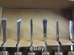 18pc Woodcarving Gunsmith Tools Gouge Parting Mini RAMELSON USA 116 116R 116M
