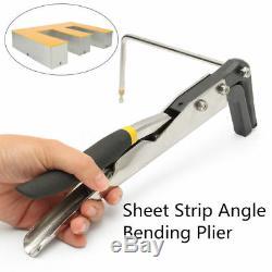2'' Manual Sheet Metal Strip Bender Arc+ Angle Bender Sign Pliers Letter Bending