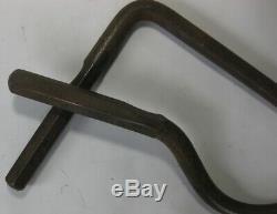 2 Porter-Ferguson Vintage Body Work Tools PT-2 + PT-4 Curved Hook Picks