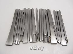 20 Small Chasing Tools Jewelry Making Metal Design Texturing Forming Repoussé