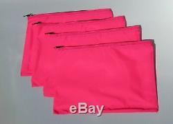 201 Neon Pink Water-Resistant Make-up Tool Organizer Lot