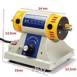 220V 350W Mini Polishing Machine For Dental Jewelry Motor Lathe Bench Grinder