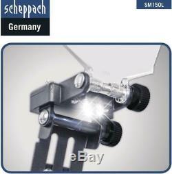 230V BENCH GRINDER 6 ø150mm SCHEPPACH SM150L TWIN GRINGING STONES 400W