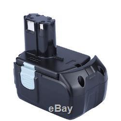 2X 4000mAh 18V 4.0Ah Li-ion Battery for HITACHI BCL1815 BCL1830 EBM1830 327730