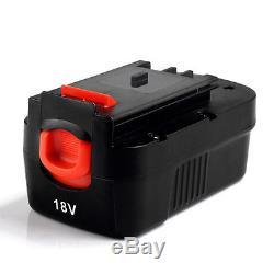 2x 18V 2000mAh Slide Battery for Black & Decker HPB18-OPE 244760-00 A1718 FS18BX