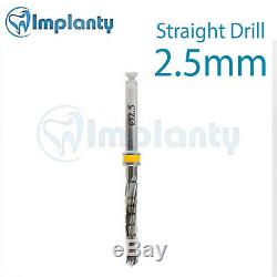 3 Straight Drill External Irrigation For Dental Implant Surgery Tool Instrument