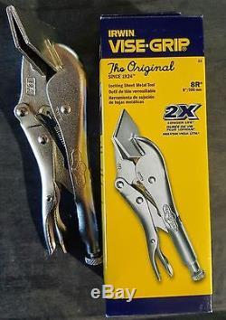 (3-pack) Irwin 8R Locking Sheet Metal Tools 23