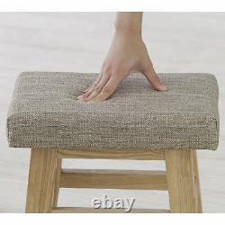 3-sets Wooden Stool High Chair Bar Counter Home CL-789CBR-L3 Azumaya F'Kolme NEW