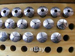 32 Lot of Levin 8 mm  Collets for Watchmakers / Jewelers Lathe