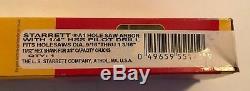 32 PC HUGE WHOLESALE LOT STARRETT BI METAL HOLE SAW KIT SET 9/16 TO 5 WithARBORS