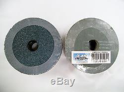 4-1/2 Fiber Resin Sanding Disc 50 Grit, ZIR, Professional Grade, 300pk, Bulk