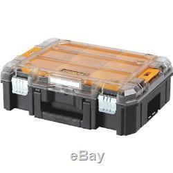 4-Dewalt 17-1/4 L X 13 W X 5-3 H Plastic TSTAK Parts Storage Box DWST17805