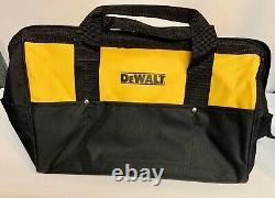 4 (FOUR) Dewalt DCK019 Large Heavy Duty Contractor Tool Bags 19 X 11 X 12