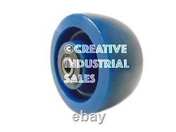 4 x 2 Swivel Caster with Brake Solid Polyurethane Elastomer Wheel&Rigid Tool Box