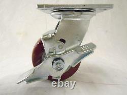 4 x 2 Swivel Casters with Brake Polyurethane Wheel 500 lbs each Tool Box (4)