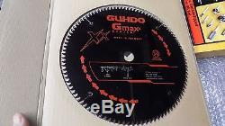 5 NEW GUHDO GMAXX 12 Inch X 100T # 2400120T10 Thin Kerf Miter Saw Blade 1Arbor
