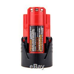 5-PACK NEW Power tool Battery For Milwaukee M12 12V 12 Volt 48-11-2401