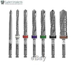 5 Sydent Dental Implant Drills External Irrigation Instruments Tool Internal Hex