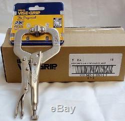 (5-pack) Irwin Model 18 Vise-Grip 6SP 6 Original Locking C-Clamps