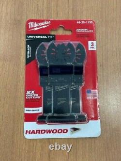 5 x Milwaukee Oscillating Multi-Tool Blade (COMBO) VALUE $200+