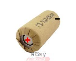 50Pcs Ni-MH Battery SC Sub C 1.2V 3000mAh for Power tools Model Toys Screw Drill