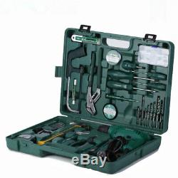 58Pc Power Drill 320W Tool Set With Hammer Hex Key Wrench Pliers