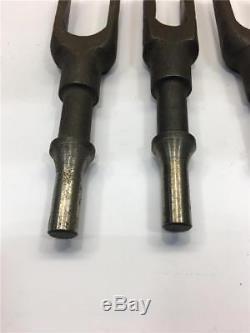 5pc Lot 1 GAP AJAX 968 Pneumatic Rivet Hammer. 498 Pickle Fork Chisel Set