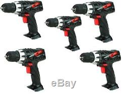 5x BULK LOT Drill Master 18v Cordless Power Drills Bare Tool Replacement New