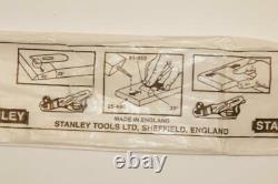6 NOS Stanley Bailey 2 Plane Blade & Cap Iron. Double Iron 12-0044 BOXED