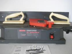 6 PC Sears CRAFTSMAN Jointer Planer 5-1/8 149-236321 All Accessories Manual GUC