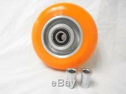 6 x 2 Kingpinless Swivel Caster apex Polyurethane Wheel 1200lbs ea. Tool Box(4)