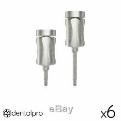 6 x Hand Hex Driver 1.25mm For Dental Implant Abutment, Screws Surgical Tools