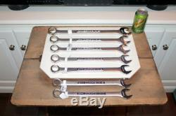 (7) Large New Craftsman Metric Combination Wrench 23 24 25 26 27 28 32mm
