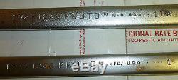7 Pc Proto Prof. Tools 12 Pt Anti-Slip Combination Wrench Set 3/4 1 13/16