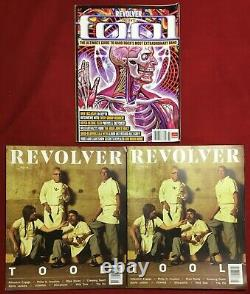 7 TOOL Band Revolver Magazines Box Set Aug Sept 2019 LE Slipcover Book of 2008 +